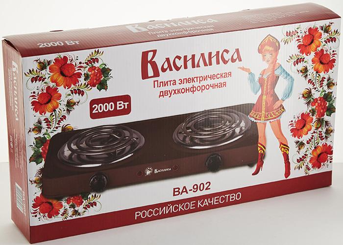 Кухонная плита Василиса ВА-902, коричневый Василиса