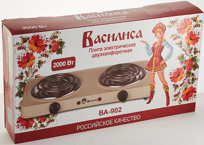 Кухонная плита Василиса ВА-902, бежевый Василиса