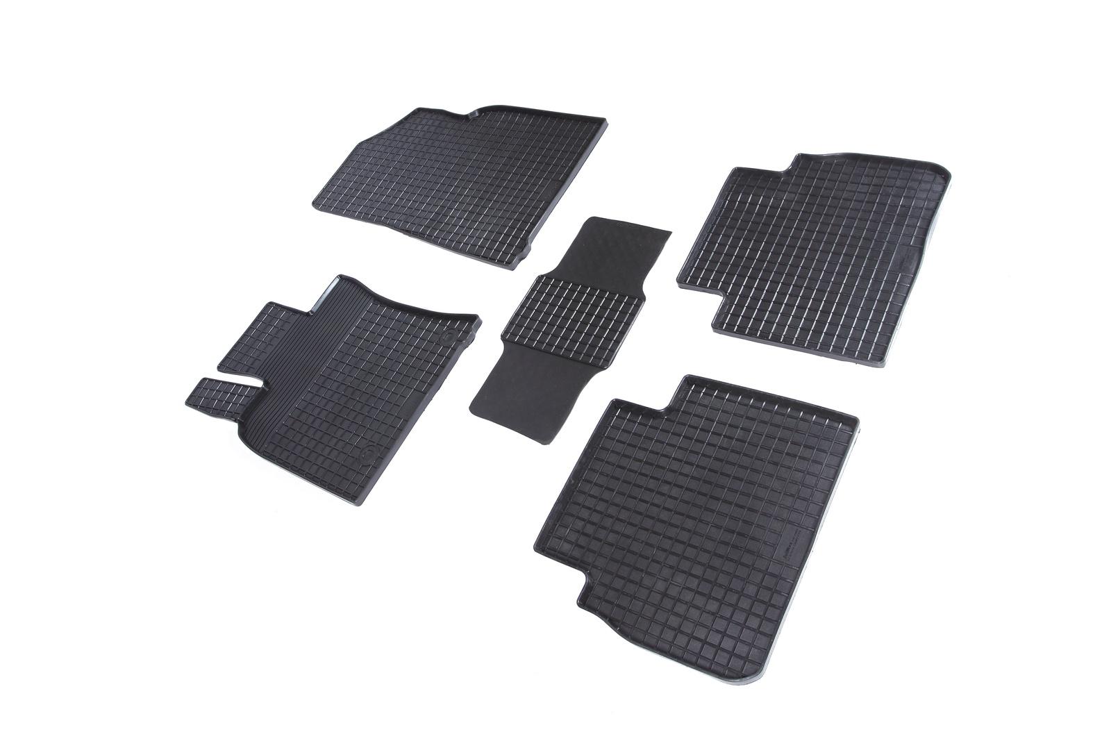 Коврики в салон автомобиля Seintex Резиновые коврики Сетка для Toyota Camry VIII 2018- для автомобиля резинотканевые коврики