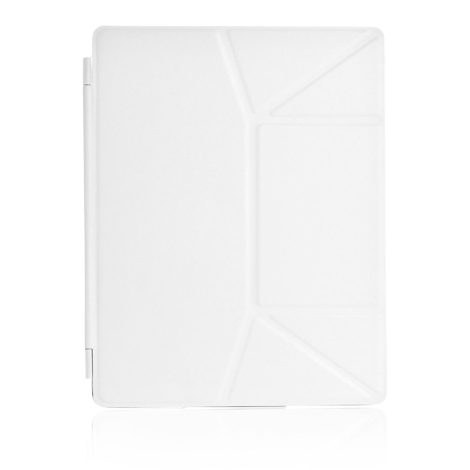 Чехол для планшета iNeez Smart эко кожа обложка 370073 для Apple iPad 2/3/4, белый