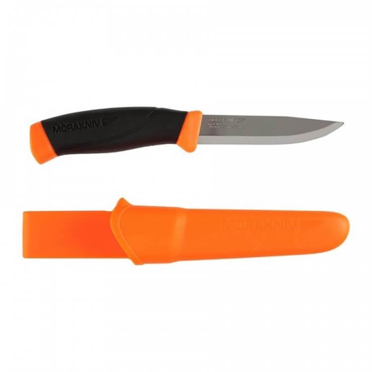Нож туристический Morakniv Companion Orange нож morakniv companion black длина лезвия 103мм