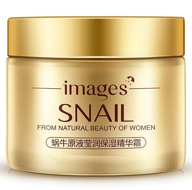 Питательный крем для лица IMAGES с муцином улитки и маслом жожоба IMAGES