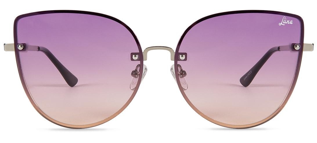 цена на Очки солнцезащитные Luna Inspire Purple Кошачий глаз женские
