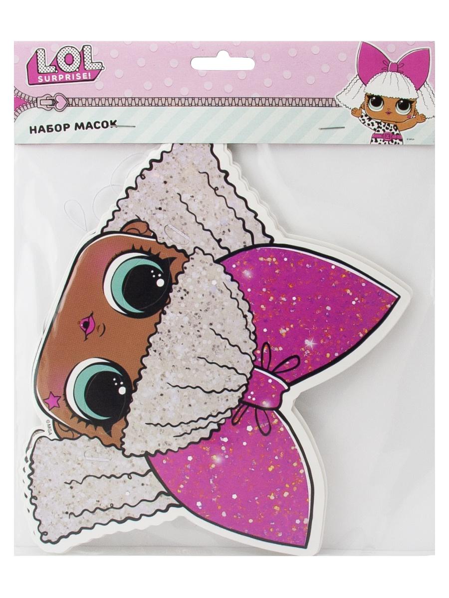Маска карнавальная L.O.L. Surprise! Кукла, разноцветный карнавальная маски