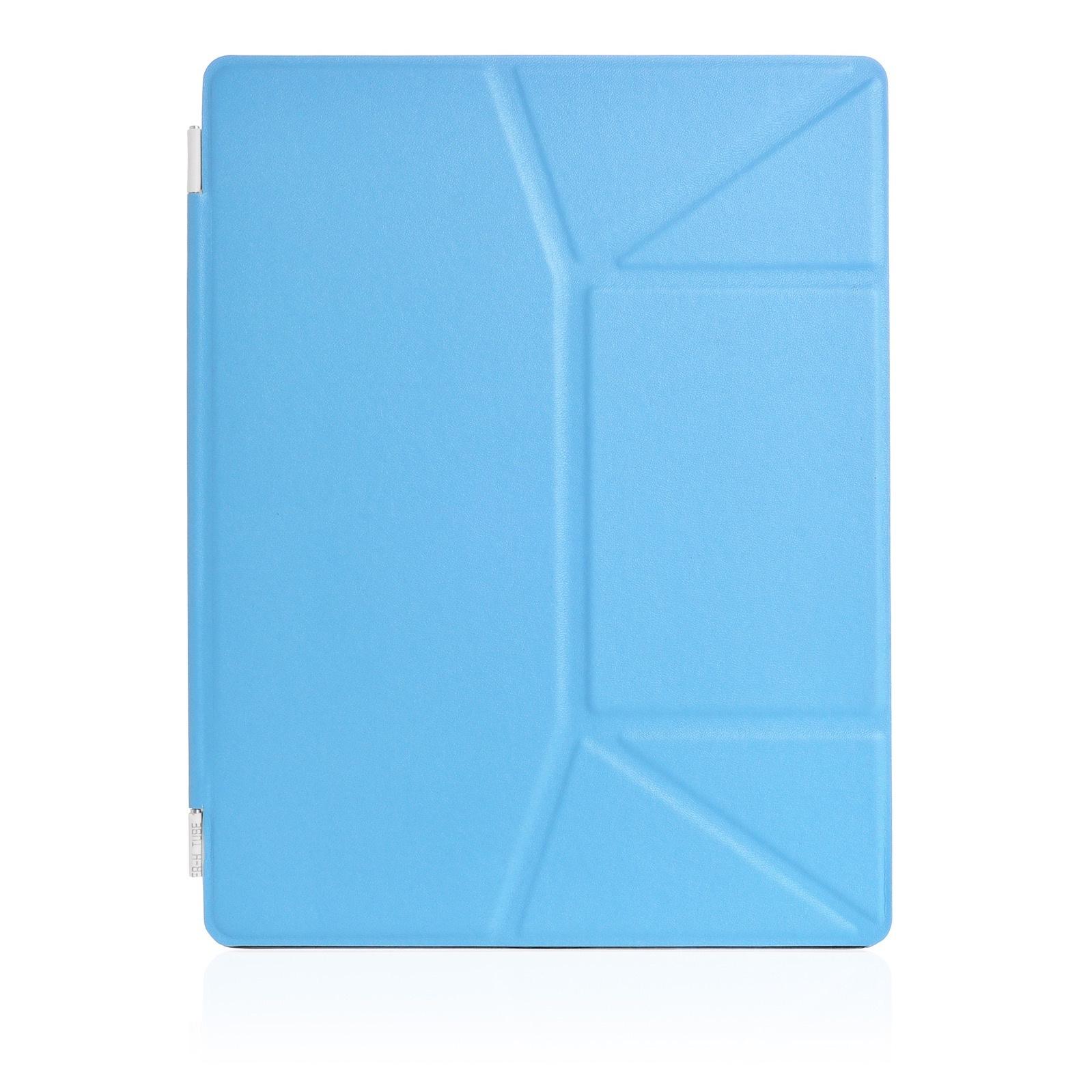 Чехол для планшета iNeez Smart эко кожа на дисплей 370076 для Apple iPad 2/3/4, голубой