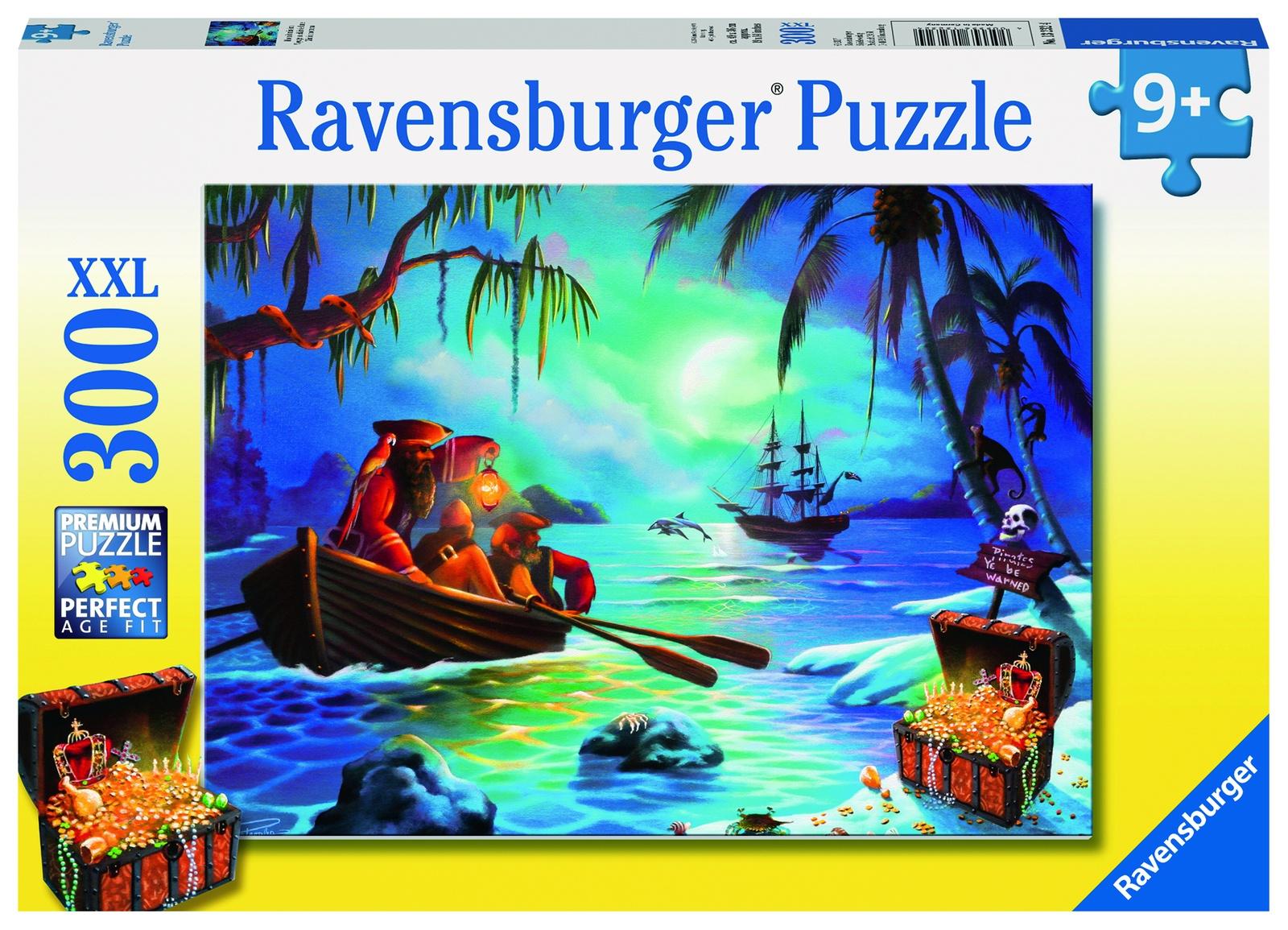 Пазл RAVENSBURGER В поисках сокровищ XXL 300 шт коробка арт. 13232 настольная игра ravensburger лабиринт в поисках сокровищ