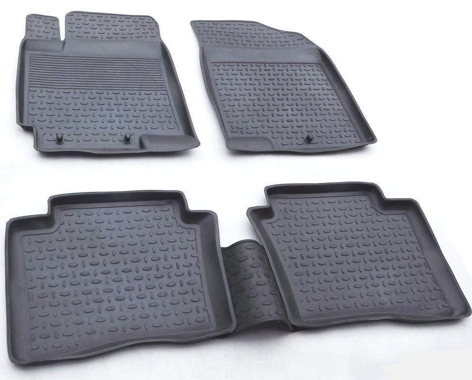 игровые коврики Коврики в салон автомобиля Seintex Резиновые коврики с высоким бортом для Hyundai Solaris II 2017-н.в.