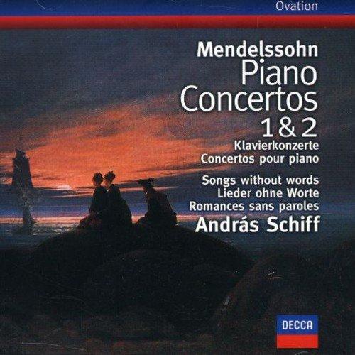 Andras Schiff. Mendelssohn: Piano Concertos Nos.1 & 2; Songs with f mendelssohn bartholdy lettere di felix mendelssohn bartholdy 1830 1847 volume 2
