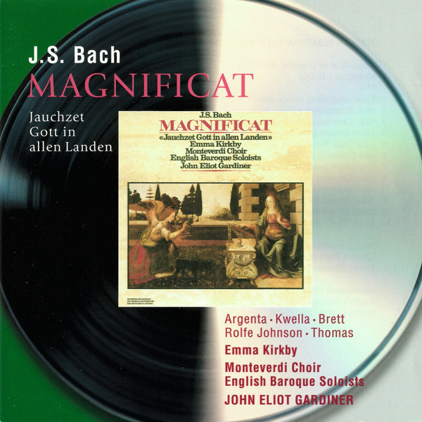 ARGENTA/KIRKBY/GARD. BACH: MAGNIFICAT & CANTATA 51