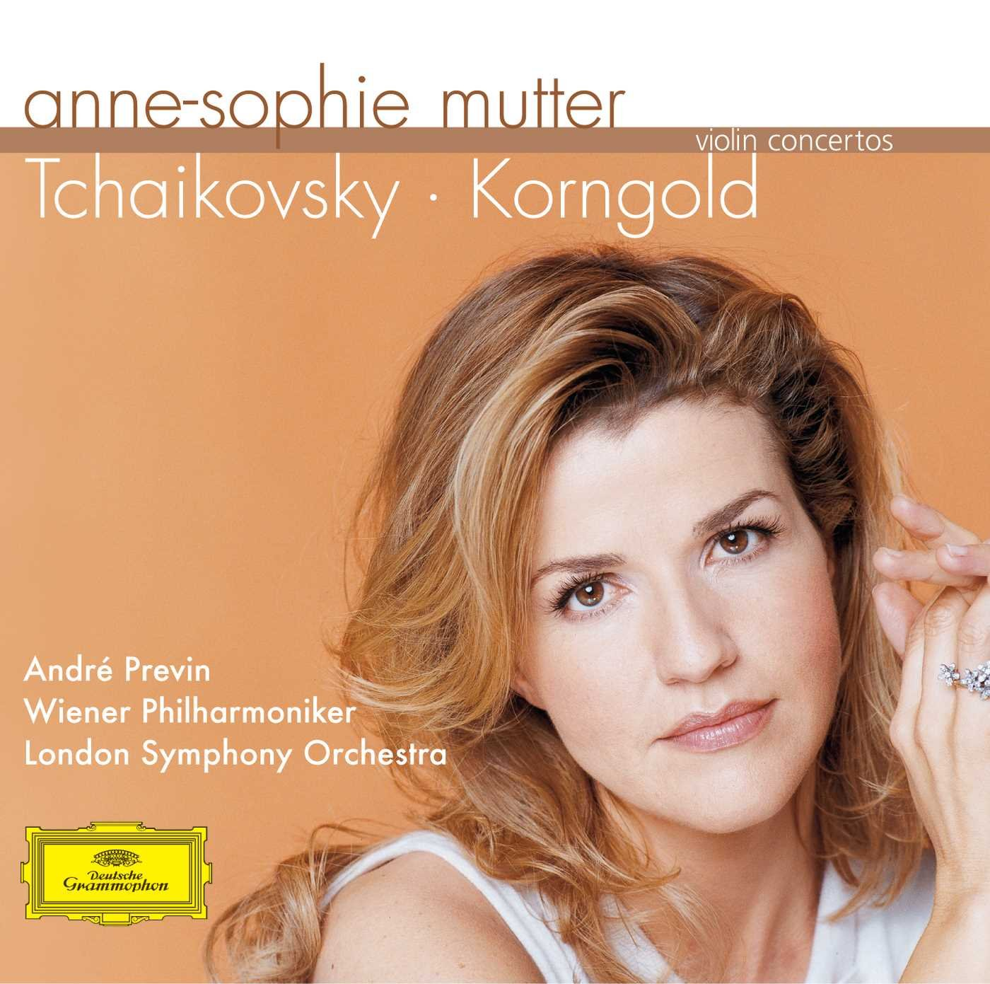 Anne-Sophie Mutter. Tchaikovsky / Korngold: Violin Concertos Исполнитель: ASM, WP, LSO, PREVINАльбом: KORNGOLD...