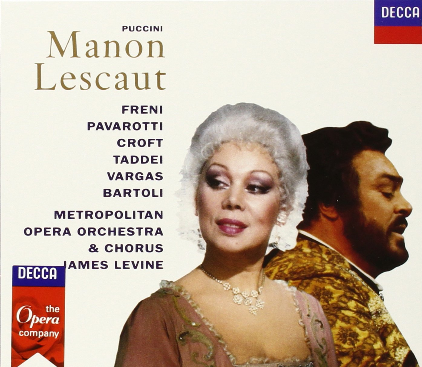 James Levine. Puccini: Manon Lescaut (2 CD) ролики quattro freni отзывы