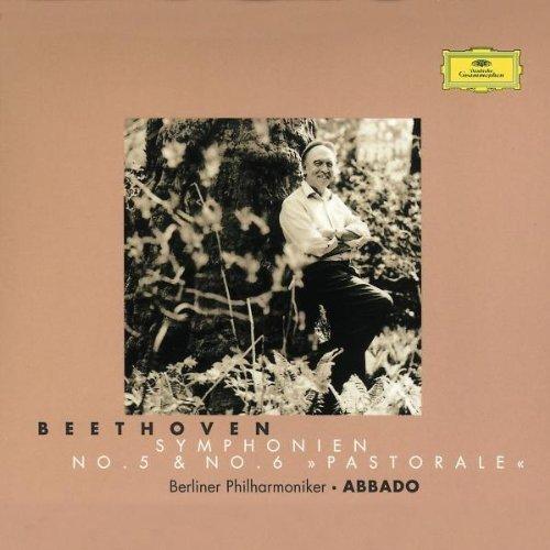 BP ABBADO. BEETHOVEN SYMPHONIES NOS. 5+6 leonard bernstein beethoven the amnesty international concert symphonies nos 7