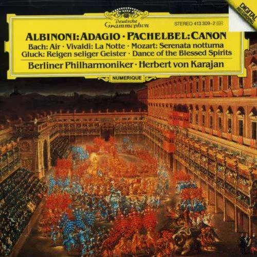 лучшая цена Herbert von Karajan. Albinoni / Pachelbel / Vivaldi / Bach / Gluck / Mozart