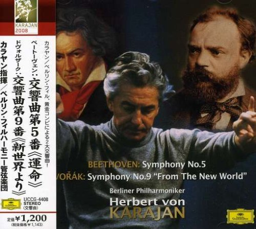 Herbert von Karajan. Dvorak: Symphony No.9; Slavonic Dances op. 46 Nos. herbert von karajan dvorak cello concerto tchaikovsky variations on a rococo theme