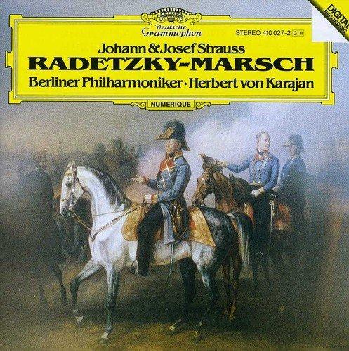 Herbert von Karajan. J. Strauss & J.II: Radetzky-Marsch herbert von karajan j strauss