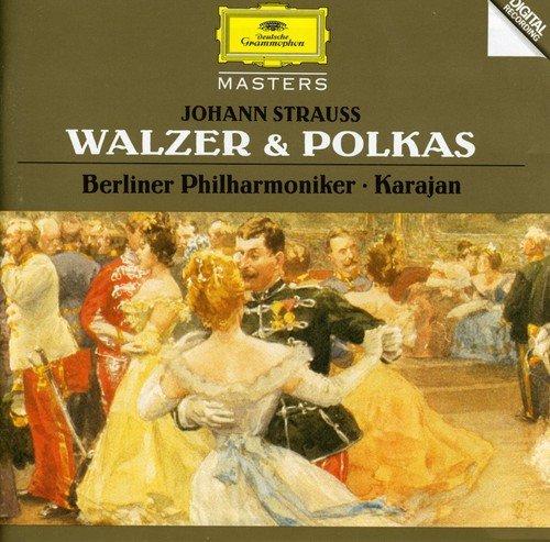 Herbert von Karajan. Strauss, J.& J.II: Waltzes & Polkas herbert von karajan j strauss