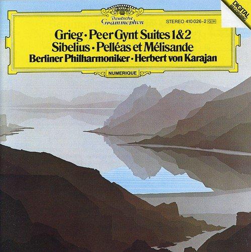 Herbert von Karajan. Grieg: Peer Gynt Suites/ Sibelius: Pelleas Et Melisande цена в Москве и Питере