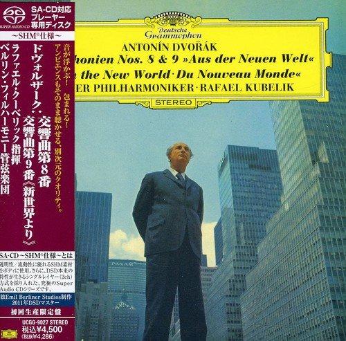 Rafael Kubelik. Dvorak: Symphony Nos.8 & 9 rafael