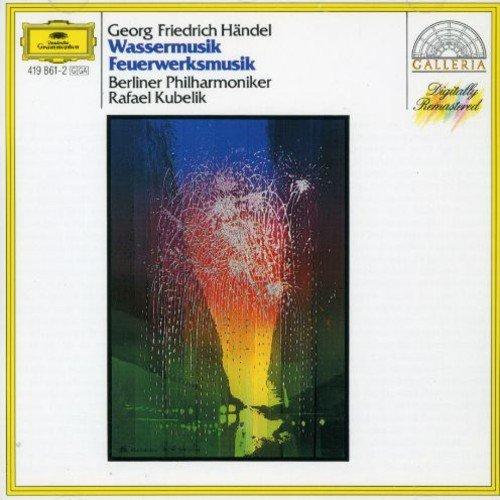 Rafael Kubelik. Handel: Water Music; Music For The Royal Fireworks water music inductive drink reminder cup paste pink