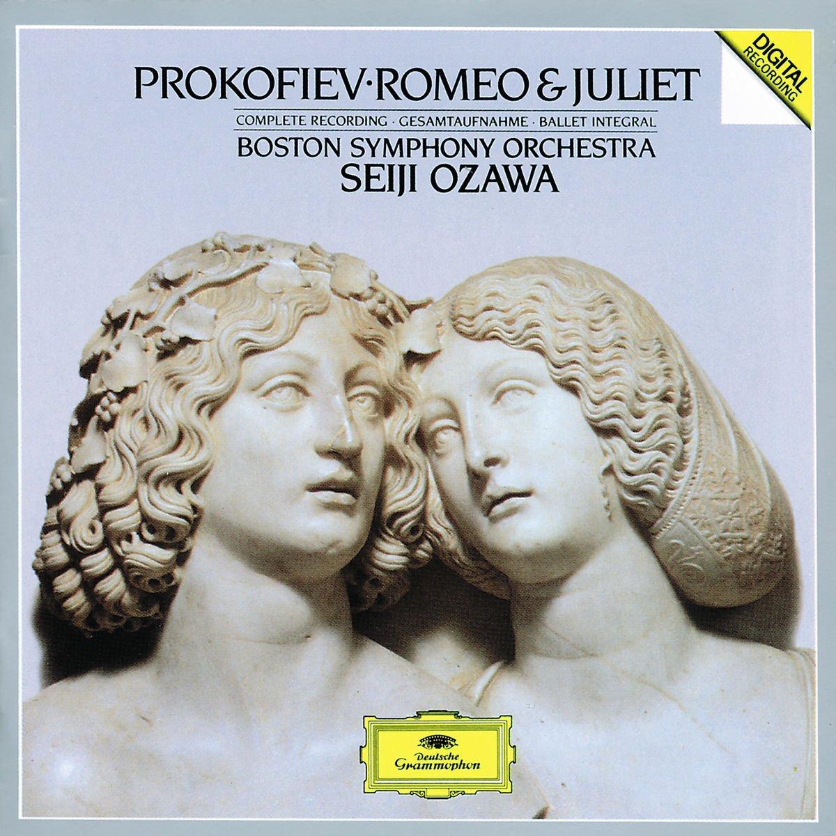 Seiji Ozawa. Prokofiev. Romeo & Juliet, op.64 (2 CD) yulianna avdeeva chopin schubert prokofiev 2 cd