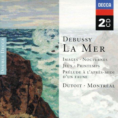 Charles Dutoit. Debussy: La Mer; Images; Nocturnes etc. (2 CD)