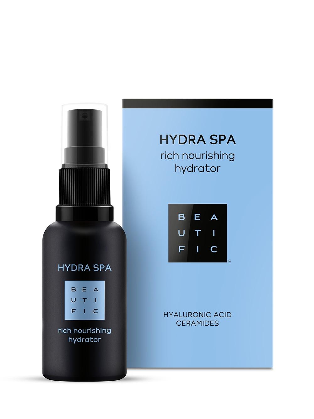 Крем для ухода за кожей BEAUTIFIC Hydra SPA Насыщенный увлажняющий для лица с гиалуроновой кислотой и церамидами недорго, оригинальная цена