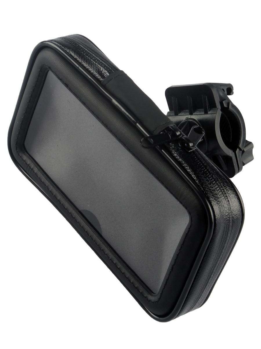 Держатель для телефона 174130, черный gps навигатор для кпк