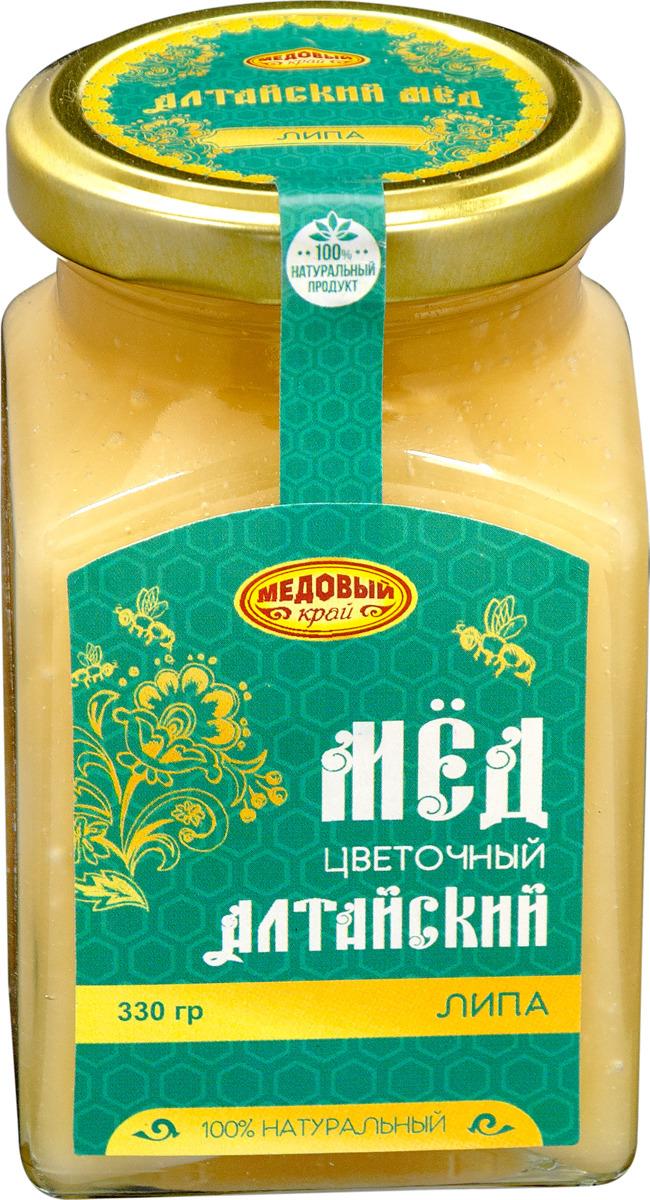 Мёд Медовый край Липовый, 330 г берестов мед башкирхан липовый 30 г