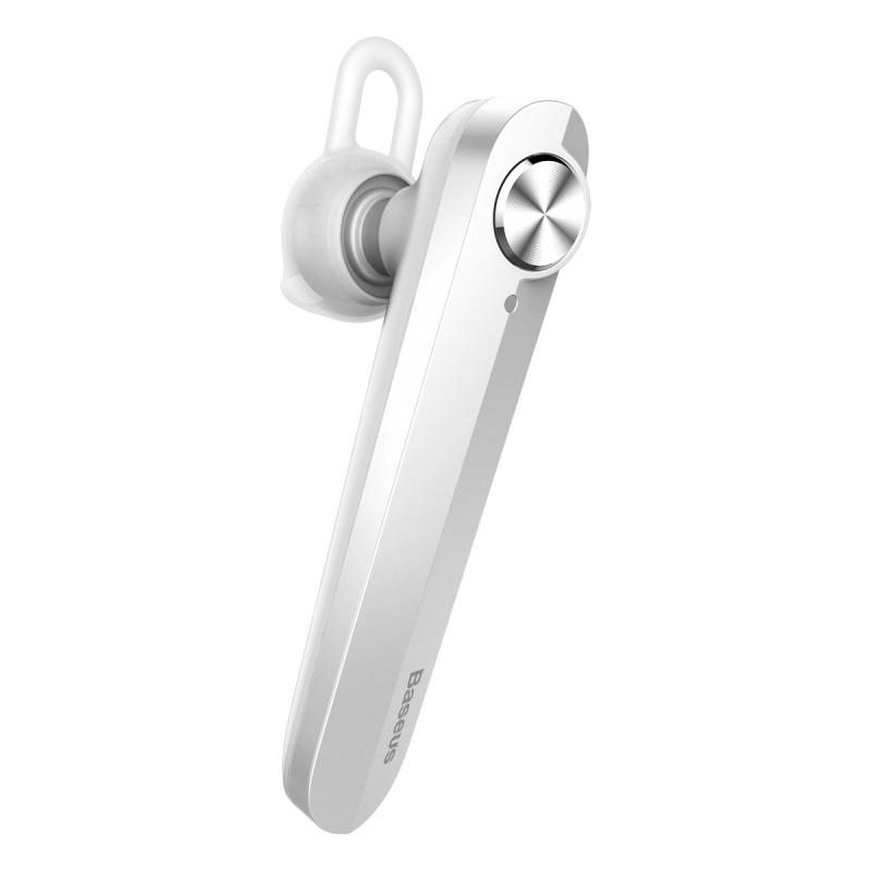 Bluetooth-гарнитура Baseus NGA01, белый blue string t2 turbo 2 поколения стерео музыка bluetooth гарнитура универсальная гарнитура белый