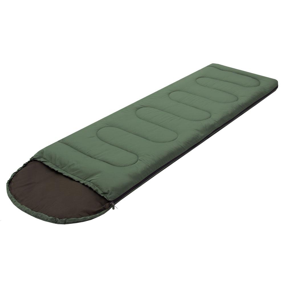 Спальный мешок Prival Селигер плюс, молния справа, хаки, 220х75 см цена