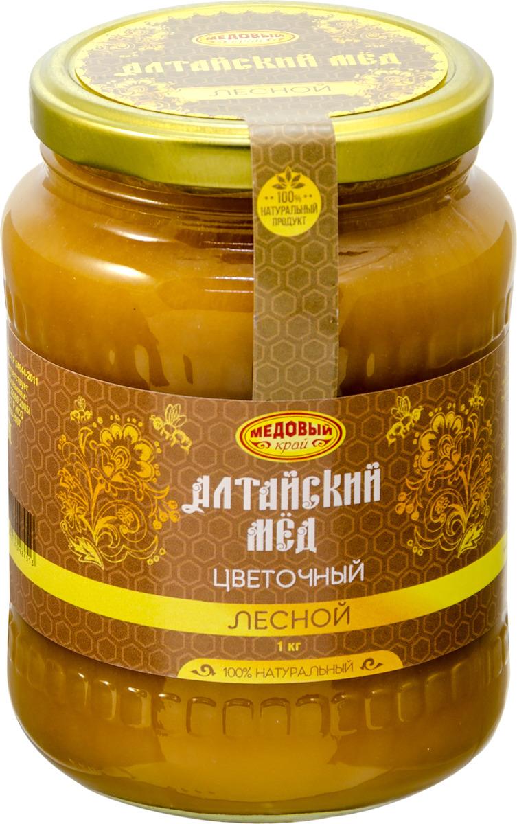 Мёд алтайский Медовый край Лесной, 1 кг