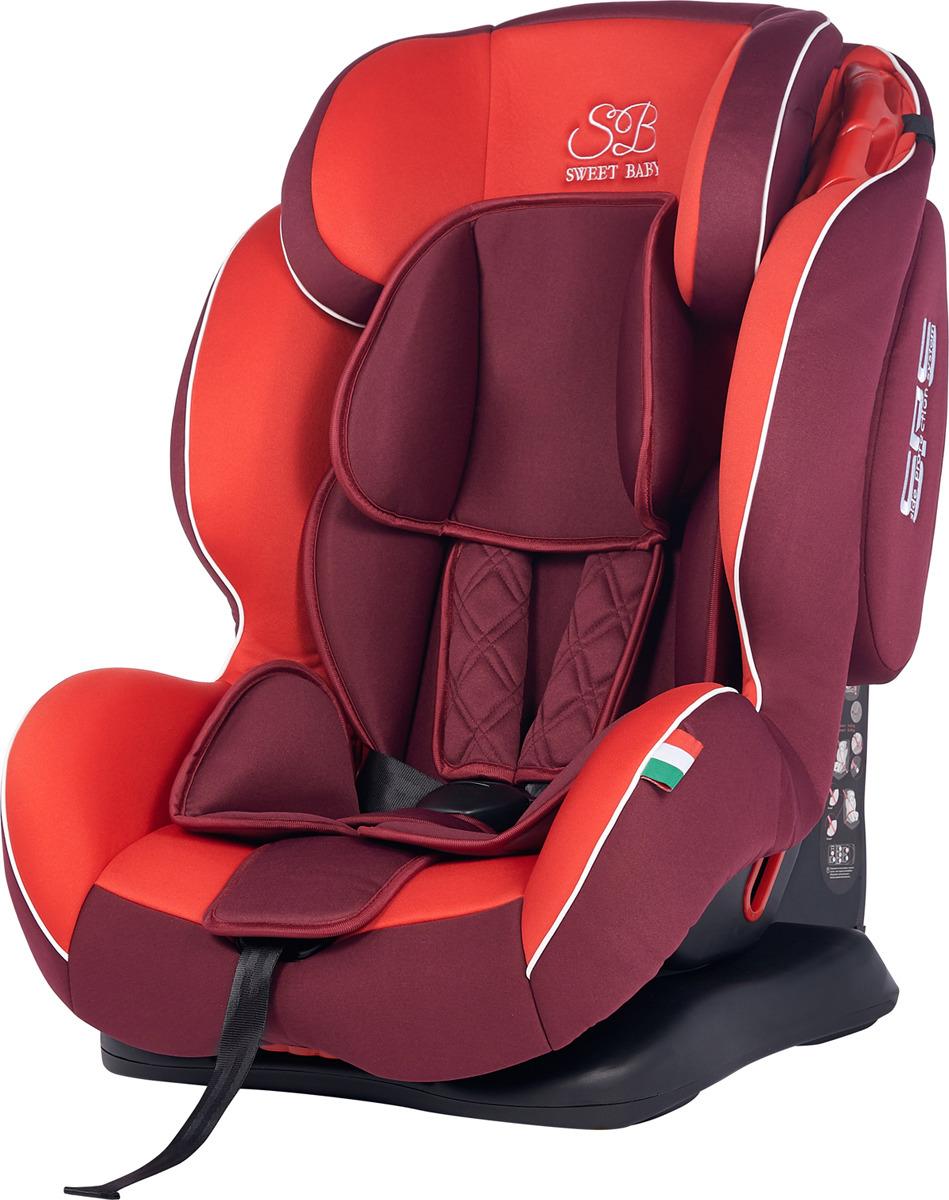 Автокресло Sweet Baby Camaro SPS от 9 до 36 кг, 419084, красный