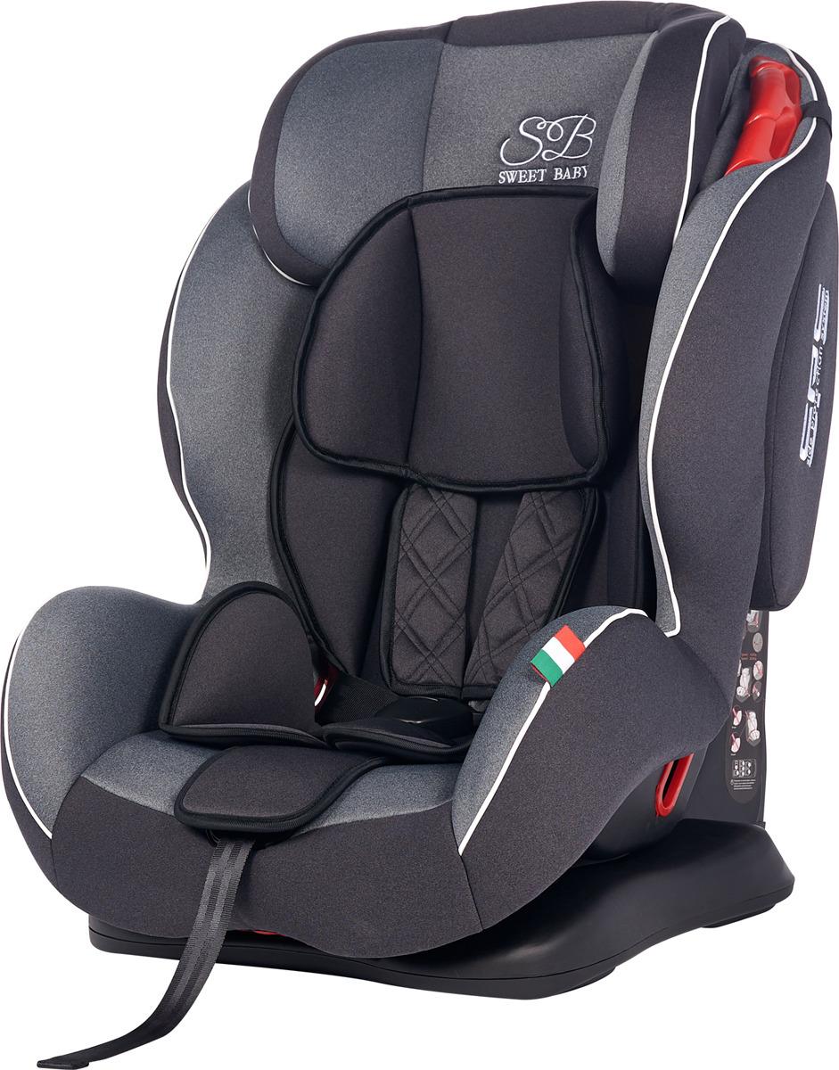 Автокресло Sweet Baby Camaro SPS от 9 до 36 кг, 419085, серый