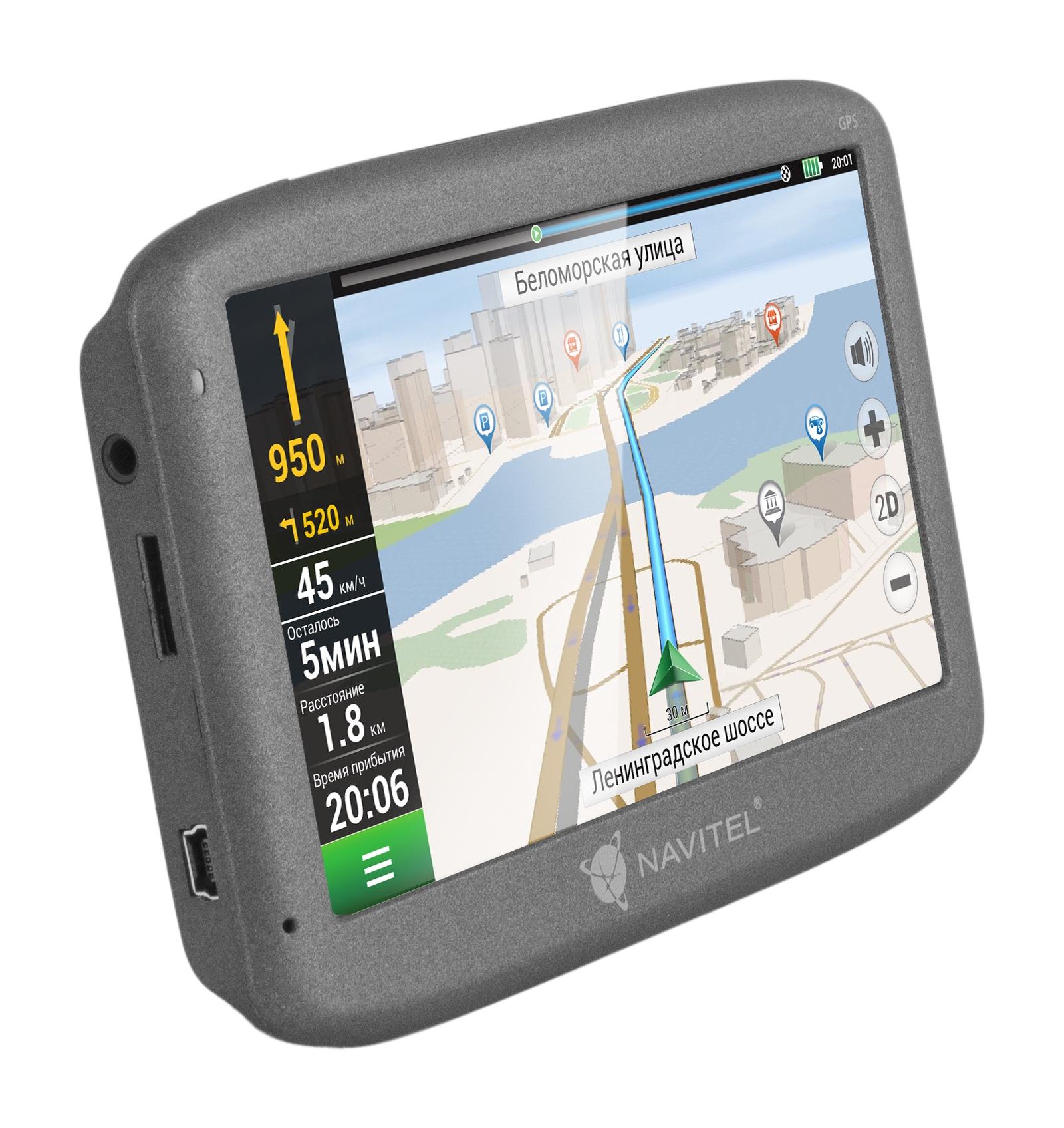 GPS-навигатор Navitel N500 восстановленный