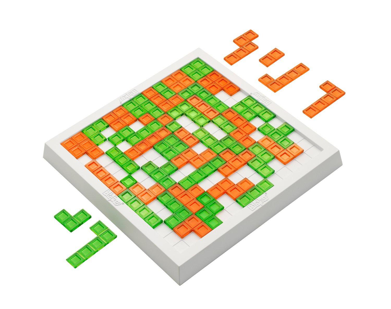 Настольная игра BeeZee Toys Стратегическая логическая настольная игра головоломка тетрис, Блокус Джуниор , 48 элементов, 2 игрока Blokus Duo зеленый, оранжевый