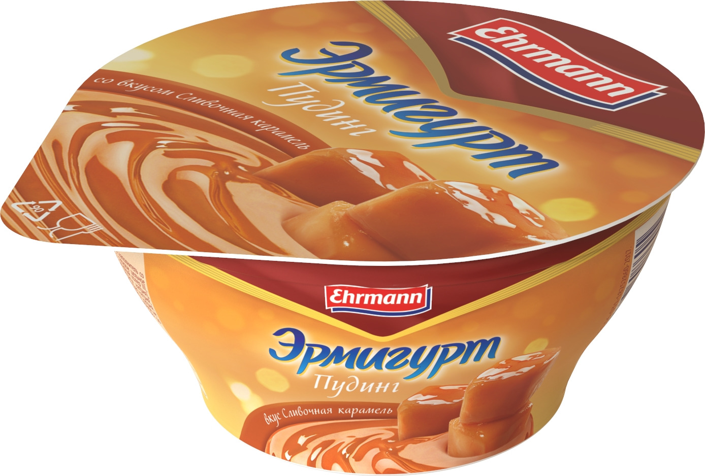Пудинг Эрмигурт, со вкусом Сливочная карамель, 3,3%, 140 г Эрмигурт