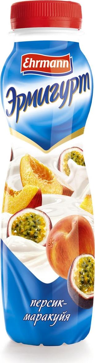 Йогуртный продукт Эрмигурт, персик, маракуйя, 1,2%, 290 г творожок чудо воздушный персик маракуйя 4 2