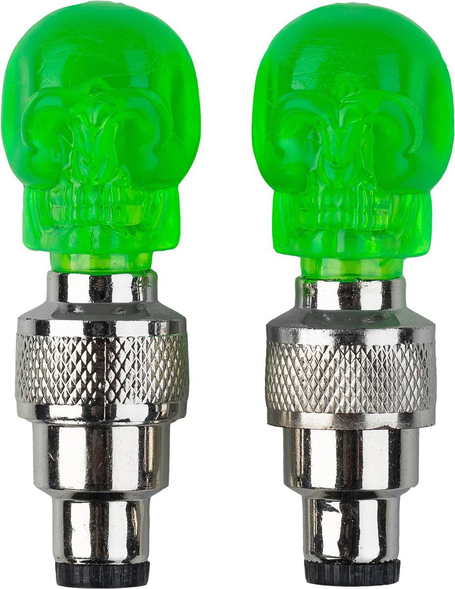 Фонари на ниппели Cyclotech CNL-2GR, ECYFL016UU, зеленый