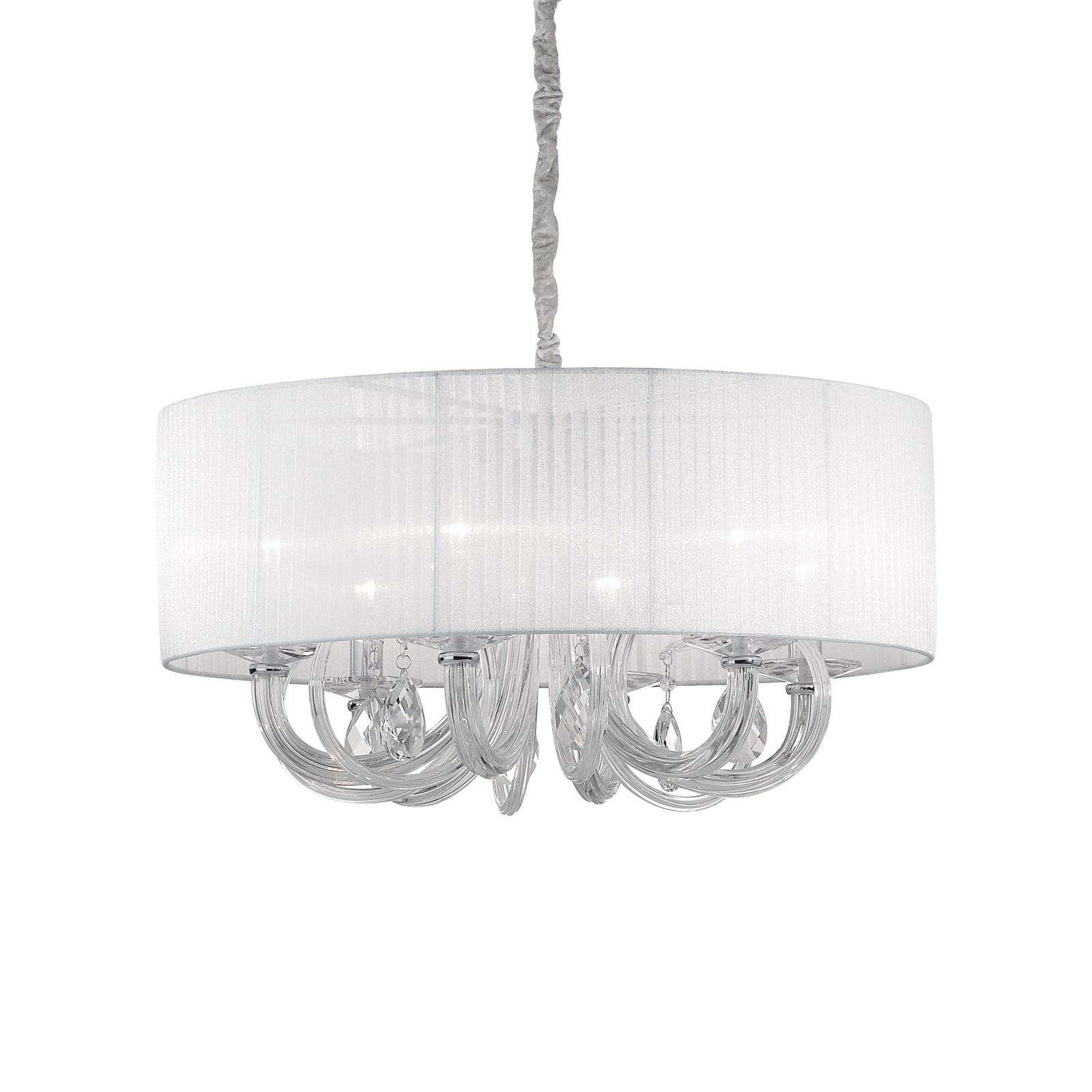 Подвесной светильник Ideal Lux Светильник подвесной SWAN SP6, E14, 40 Вт
