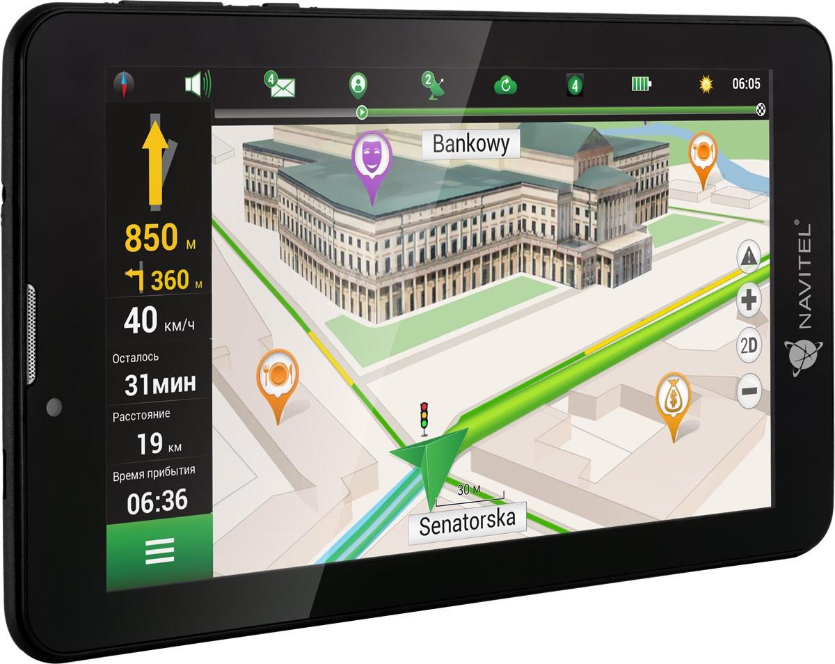7 Планшет Navitel T700 3G 16 GB, черный