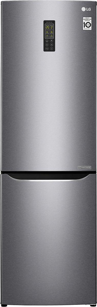 Холодильник LG GA-B379SLUL, серебристый