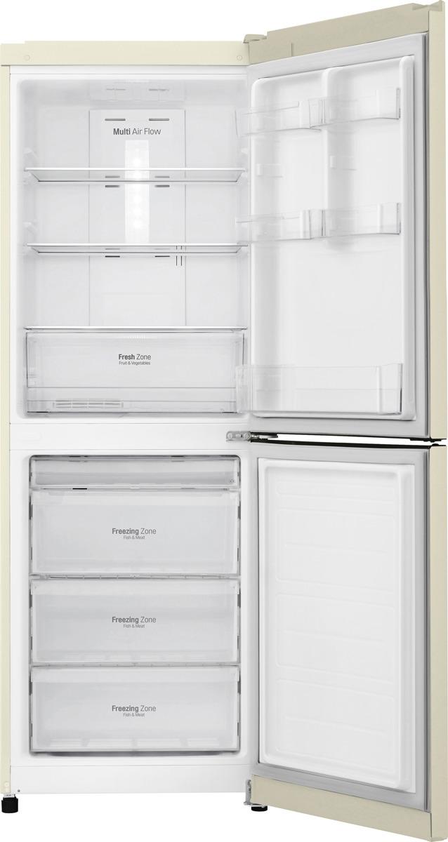 Холодильник LG GA-B379SYUL, бежевый LG