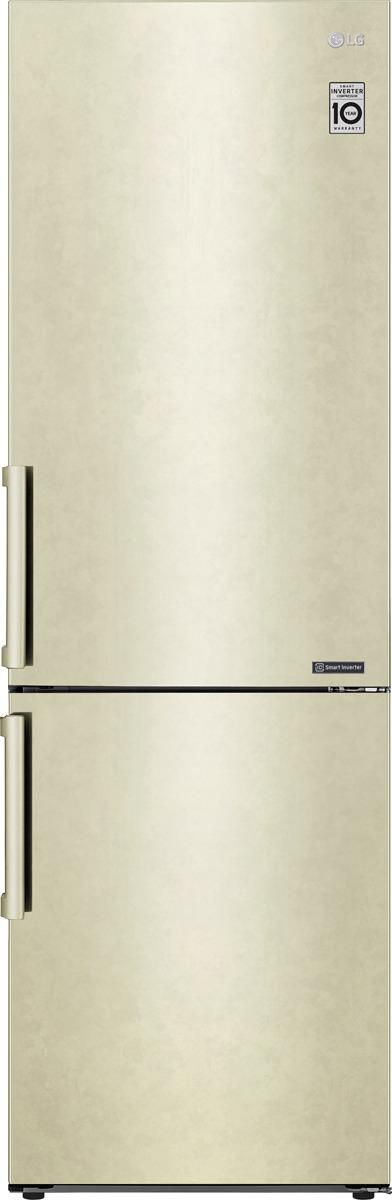 Холодильник LG GA-B459BECL, бежевый