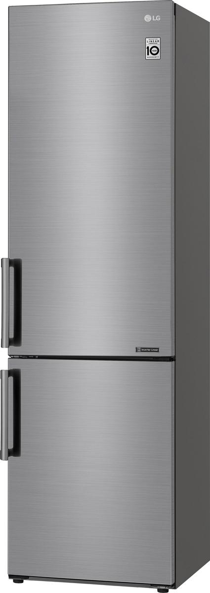 Холодильник LG GA-B509BMJZ, серебристый