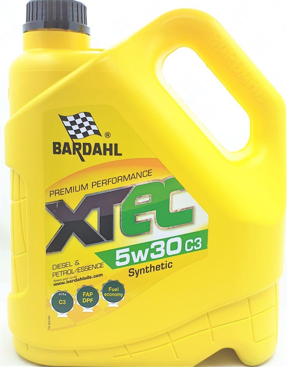 Моторное масло Bardahl ХТЕС, синтетическое, 5W-30, SN, 4 л