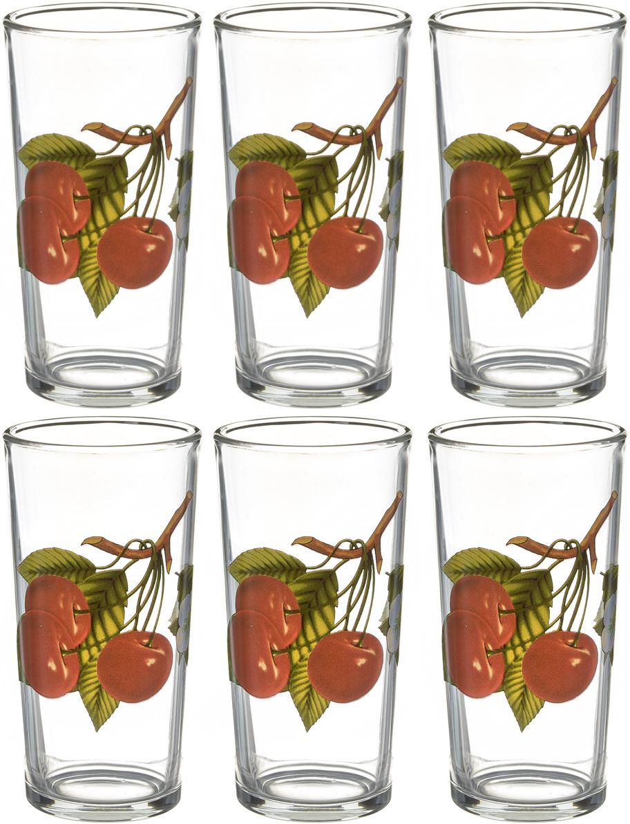 Фото - Набор стаканов ОСЗ Ода Персик К, 230 мл, 6 шт [супермаркет] jingdong геб scybe фил приблизительно круглая чашка установлена в вертикальном положении стеклянной чашки 290мла 6 z