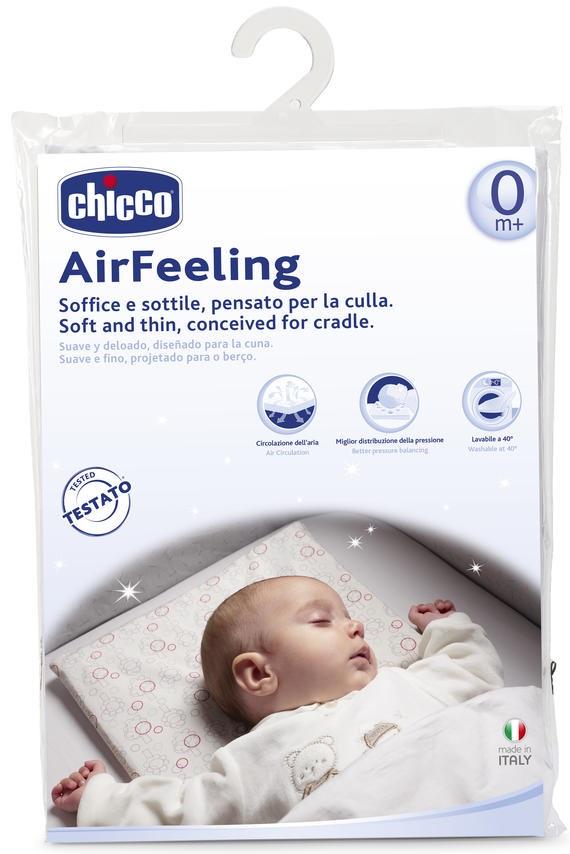 Детская подушка Chicco Airfeeling, белый