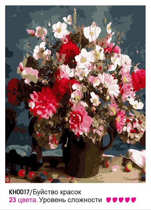 все цены на Картина по номерам Molly Буйство красок, KH0017, 40 х 50 см онлайн