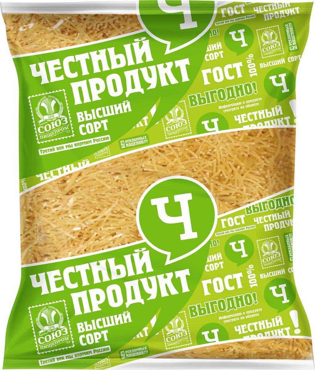 """Макароны Честный продукт """"Паутинка"""", 400 г"""
