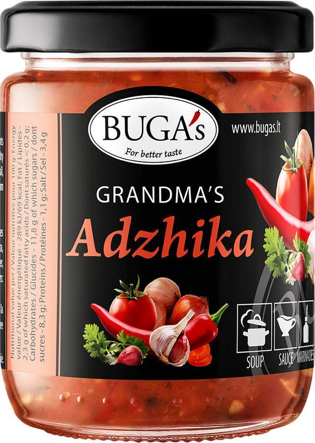 Аджика Buga's Бабушкина, 160 г аджика амца абхазская копченая 200 г